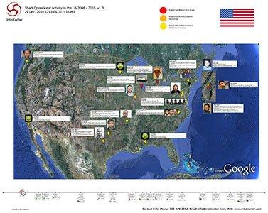 IntelCenter Jihadi Operational Activity in the US: 2008 - 2010 Wall Chart v1.0