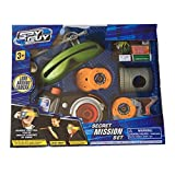 Spy Guy 10 Piece Toy Secret Mission Set With Look Around Camera