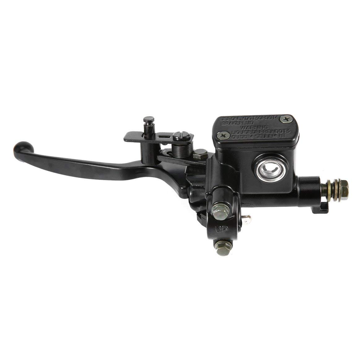 Syst/ème d/étrier de Frein arri/ère /à Disque hydraulique Kongqiabona pour 110cc 125cc Quad Dirt Bike VTT Accessoires pour v/éhicules