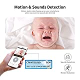Indoor Wireless IP Camera, HD 1080P Wifi Home Surveillance Camera System Pan / Tile / Zoom with Night Version Motion Detection Two-way Audio for Baby, Elder, Pet Monitor, Nanny Cam
