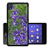 Liili Premium Sony Xperia Z2 Aluminum Backplate Bumper Snap Case Group of purple Iris Reticulata Image ID 21924858