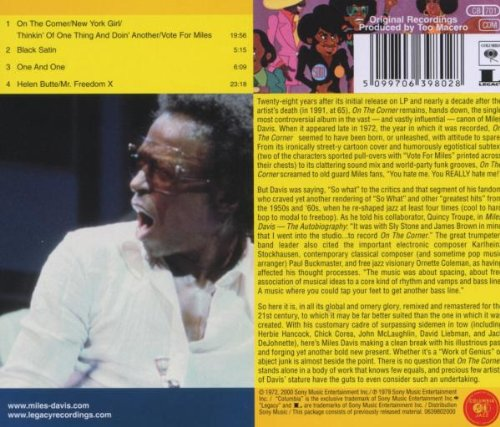 Miles Davis On The Corner Vinyl