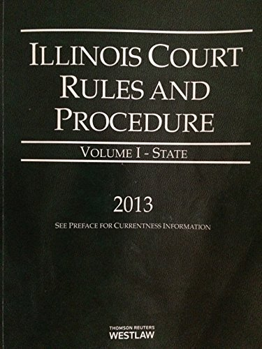 ILLINOIS COURT RULES+PROCED.,2 VOL.SET