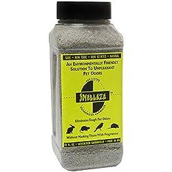 SMELLEZE Natural Rabbit Smell Removal Deodorizer: 50 lb. Granules Eliminate Pet Stink