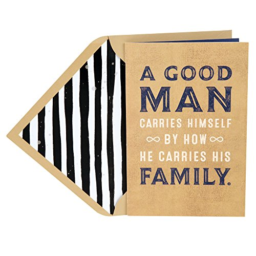 Hallmark Mahogany Father's Day Greeting Card for Dad (Jill Scott Collection, A Good Man) from Hallmark