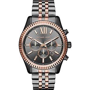Michael Kors Watches Lexington Two-Tone Chronograph Watch