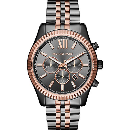 Michael Kors Watches Lexington Two-Tone Chronograph Watch