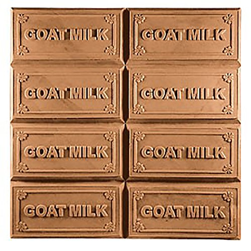 Milky Way Goat Milk Soap Mold Tray - Melt and Pour - Cold Process - Clear PVC - Not Silicone - MW 21
