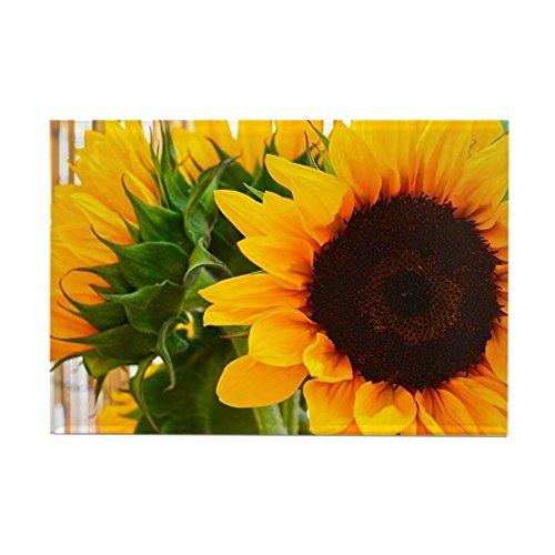 sunflower dishwasher magnet cover - 5