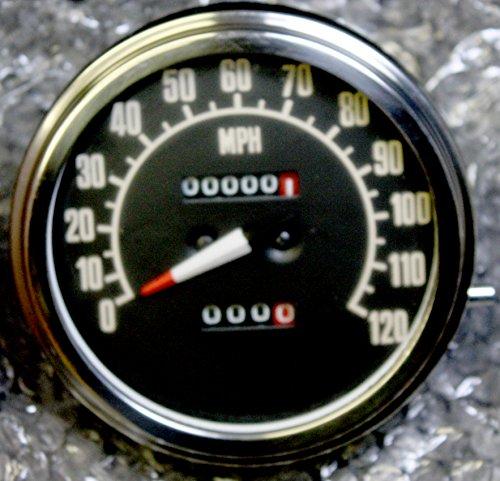 BLUERICE 85mm GPS Speedometer Gauge Universal Odometer 160MPH for ATV UTV Motorcycle Marine Boat