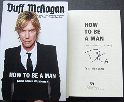 Duff McKagan Signed Book How To Be A Man Guns N' Roses 1st Pr Beckett BAS - Pr Rose
