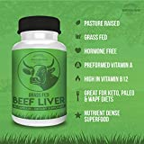 Premium Desiccated Beef Liver Capsules – Grass