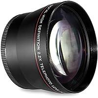 55MM TELE FOR NIKON AF-P DX LENS  2.2x Telephoto Conversion for Nikon AF-P DX NIKKOR 18-55mm f/3.5-5.6G, VR with Nikon D5500 D3300 Digital SLR Camera
