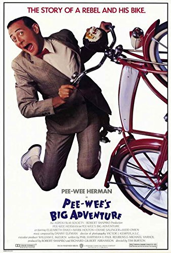Pee Wee's Big Adventure Movie POSTER 27 x 40, Paul Reubens, A, MADE IN THE U.S.A. ()