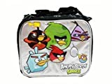 4 X Lunch Bag - Angry Birds - Space (Black/Silver)