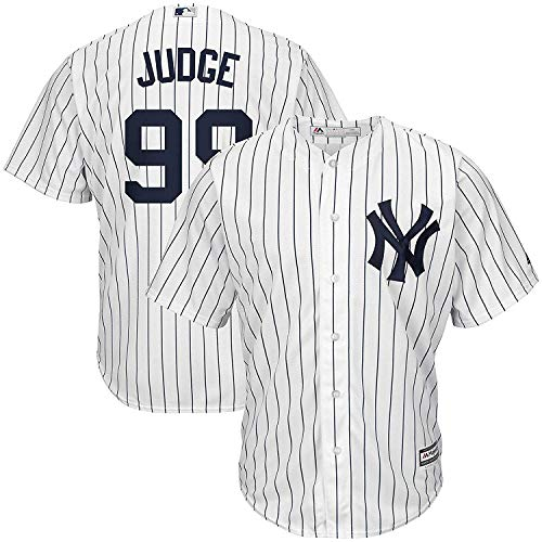 Outerstuff Aaron Judge New York Yankees #99 Infants Cool Base White Home Replica Jersey (12 Months)
