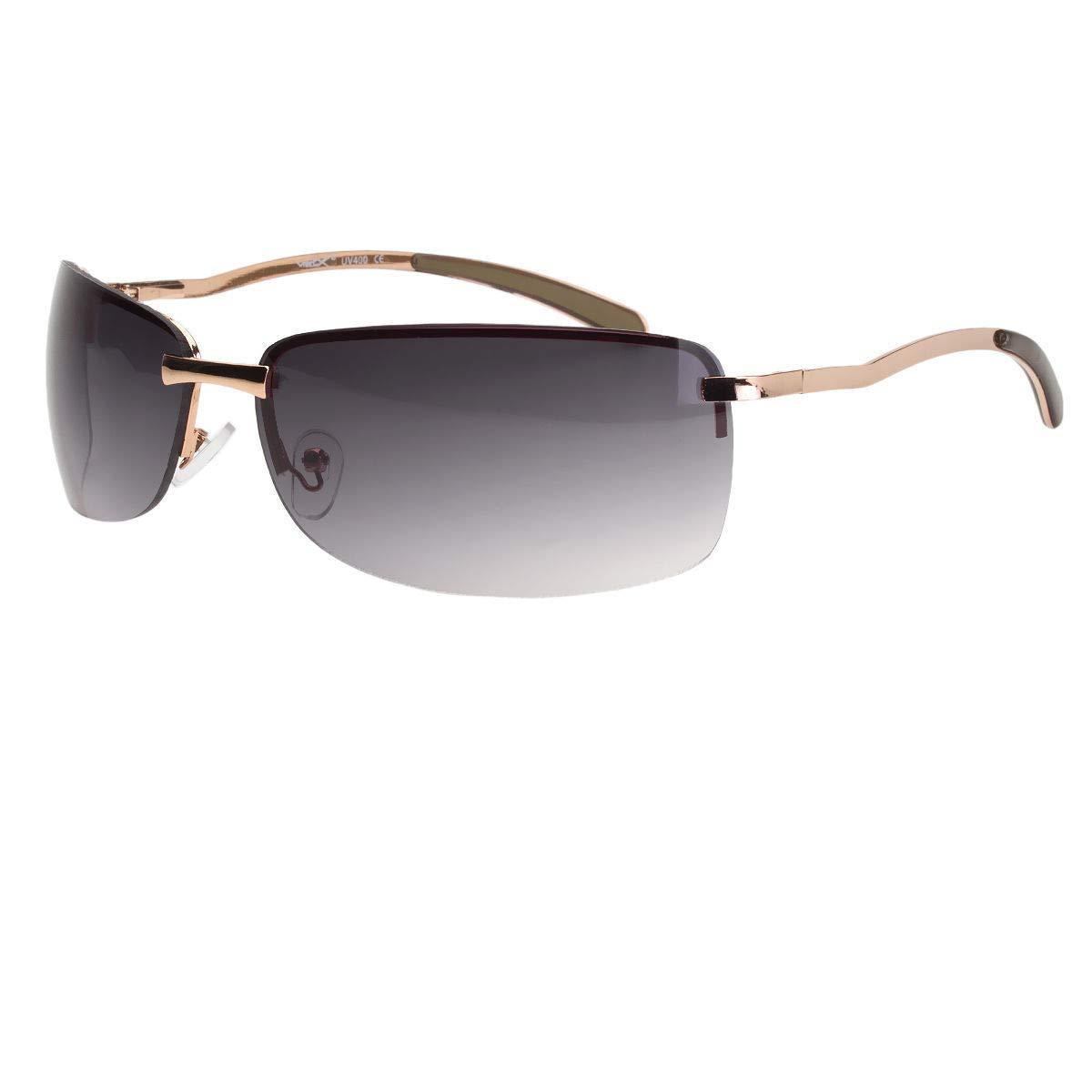 7092185e31c9 Classic Retro Mens Fashion Rectangle Metal Aviator Vintage Designer  Sunglasses Sunglasses   Sunglasses Accessories