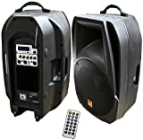 Mr. Dj PM-4015BT 15-Inch 3000 Watts Max Power Speaker