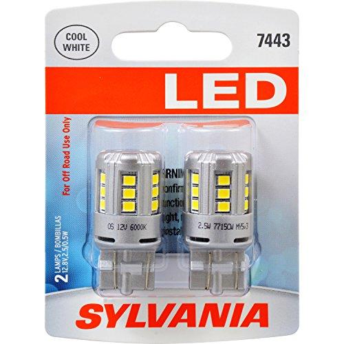 SYLVANIA 7443 White Contains Bulbs