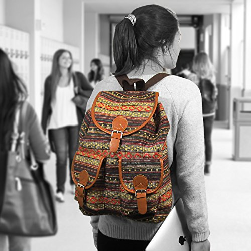 Oaxaca Tribal Bohemian Backpack Vintage Boho Style Hippie Chic ...