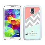 Kate Spade 108 White Samsung Galaxy S5 i9600 Screen Phone Case Genuine and Charming Design