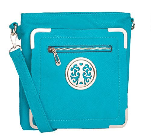Turquoise Bag And Shoes - 7