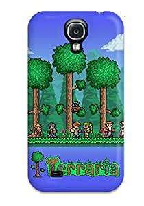 Hot Snap-on Terraria Adventure Hard Cover Case/ Protective Case For Galaxy S4