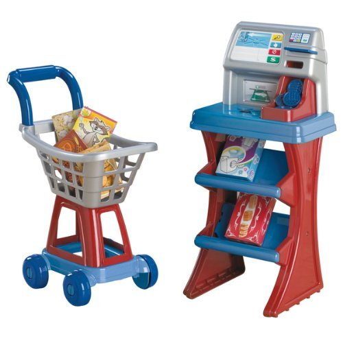 025217200104 - American Plastic Toys My Very Own Shop N Pay Market Set, Colors may vary carousel main 1