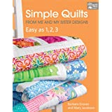 Simple Quilts from Me and My Sister Designs: Easy as 1, 2, 3 (English Edition)