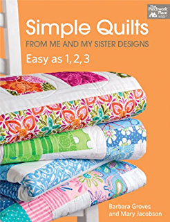 Perfect quilts for precut fabrics 64 patterns for fat quarters simple quilts from me and my sister designs easy as 1 2 3 fandeluxe Image collections