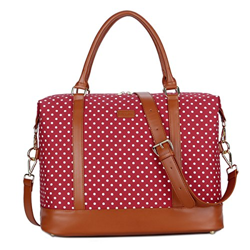 BAOSHA HB-28 Ladies Women Canvas Travel Weekender Bag Overni