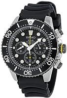 Seiko Men's SSC021 Solar Diver Chronograph Watch by Seiko