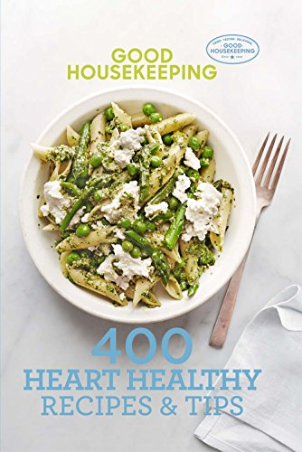 Book cover from Good Housekeeping 400 Heart Healthy Recipes & Tips (400 Recipe) by Good Housekeeping