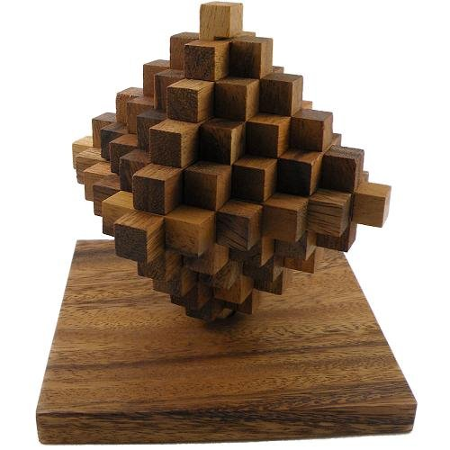 Winshare Puzzles and Games Ladder Wooden Brain Teaser Puzzle