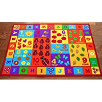 Furnish my Place 3' x 5' Kids ABC area rug Educational...