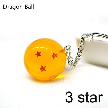 YPT - Llavero, diseño de bola de dragón de 2,7 cm, incluye ...