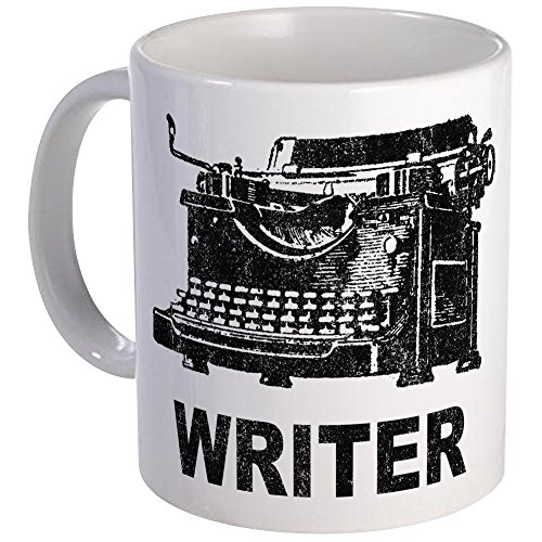 CafePress Vintage Writer Unique Coffee