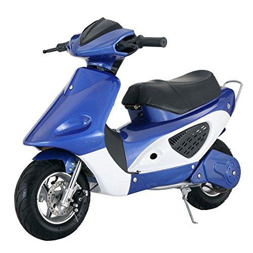 Costzon Electric Bike Miniature Motorcycle Scooter Battery Powered Motorbike 36V Junior (Blue)](Miniatures Motor)