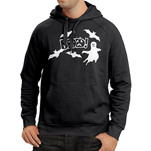 Hoodie BAAA! - Funny Halloween Costume Ideas, Cool Party Outfits (X-Large Black Multi Color)]()