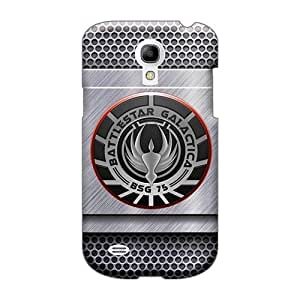 Shock-Absorbing Cell-phone Hard Covers For Samsung Galaxy S4 Mini With Unique Design Trendy Battlestar Galactica Series AlainTanielian