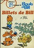 Boule et bill, n° 21 :  Billets de bill