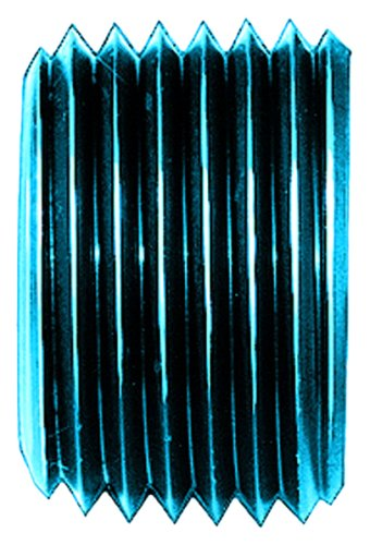 "Aeroquip FCM3749 Blue Anodized Aluminum 1/2"" NPT Allen Head Pipe Plug"
