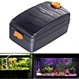 High Power Double-Headed Aquarium Air Pump, Adjustable Oxygen Pump, Ultra Quiet Oxygen Air Pump For Fish Tank