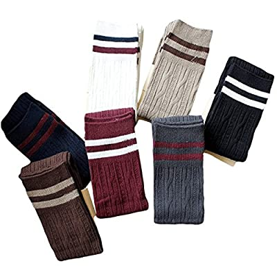 TooPhoto Over Knee Socks Thigh High Stockings Tube Cotton Women Dresses Campus