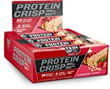 BSN Protein Crisp Bar by Syntha-6, Low Sugar Whey Protein Bar, 20g of Protein, New Flavor-Strawberry Crunch, 12 Count (Packaging May Vary) Review