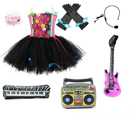 Pop Star Tutu Dress Costume from Chunks of Charm (12 Months Dress) -