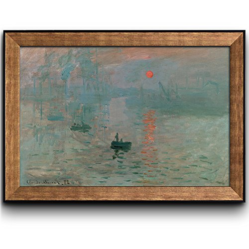 Impression Sunrise by Claude Monet Framed Art