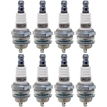 Oregon (8 Pack) 77-310-1-8pk Spark Plug Replaces Bosch W8DC Champion N11YC NGK BP5ES