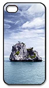 iphone 4 case amazing covers Stone natural scenery PC Black for Apple iPhone 4/4S