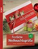 Festliche Weihnachtsgrüße: Karten, Anhänger und originelle Ideen